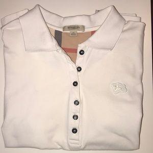 Women's Burberry Polo Short Sleeve